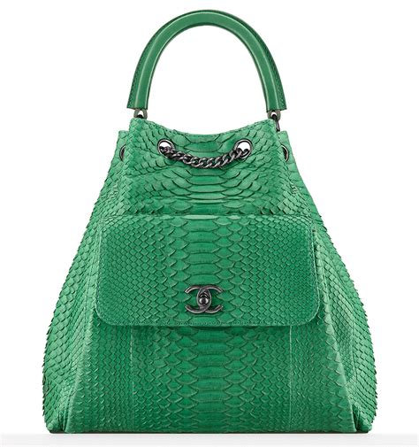 Chanel Richie And Chanel Python Tote by Chanel Pre Collection 2016 Bags Are Here Check Out
