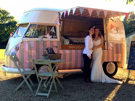 Pollys Parlour Vintage Vw Splitscreen Ice Cream Van Hire | polly s vintage ice cream parlour vintage vw splitscreen