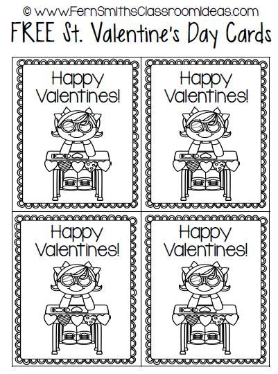 Can You Use A Smith S Gift Card For Gas - fern s freebie friday st valentine s card freebie fern smith s classroom ideas