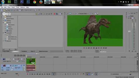 sony vegas pro green screen tutorial how to chroma key green screen youtube