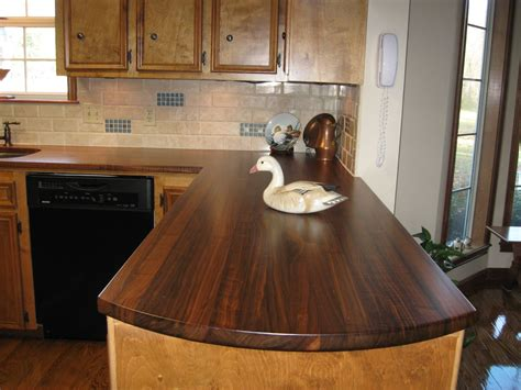Wooden Kitchen Countertops Custom Walnut Kitchen Countertops By Craft Direct Custommade