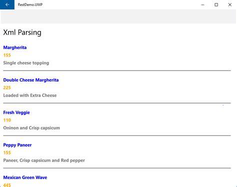 xamarin parse tutorial demo screens from windows10 uwp
