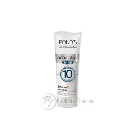 Ponds Clear Solution Fc Scrub 100g pond s complete solution acne clear white multi foam
