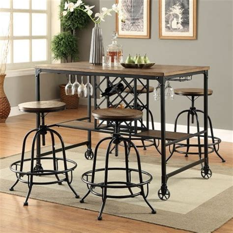 pub table with wine rack wine rack pub table set modernmist limited