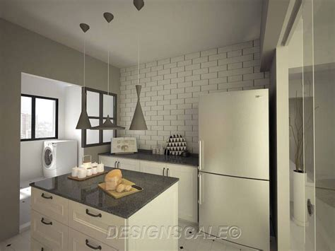 designscale hdb  room resale woodlands drive  kitchen