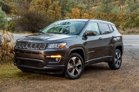 New Jeep Compass Jeep Compass Is A Compact Crossover Doubles As Family Car