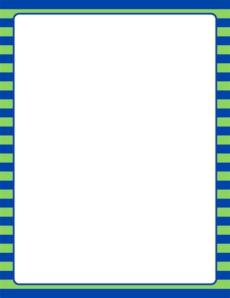 printable blue striped border use the border in printable blue and green striped border use the border in microsoft word or other programs for