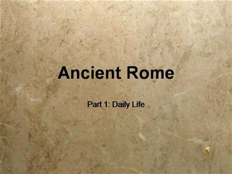 ancient powerpoint template ancient rome p1 daily authorstream