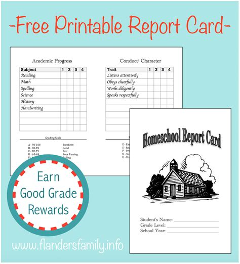 Homeschool Report Card Generator