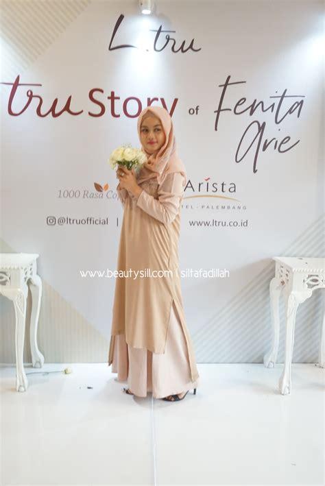 Dress Fenita til cantik dengan balutan muslimah modis dan stylish