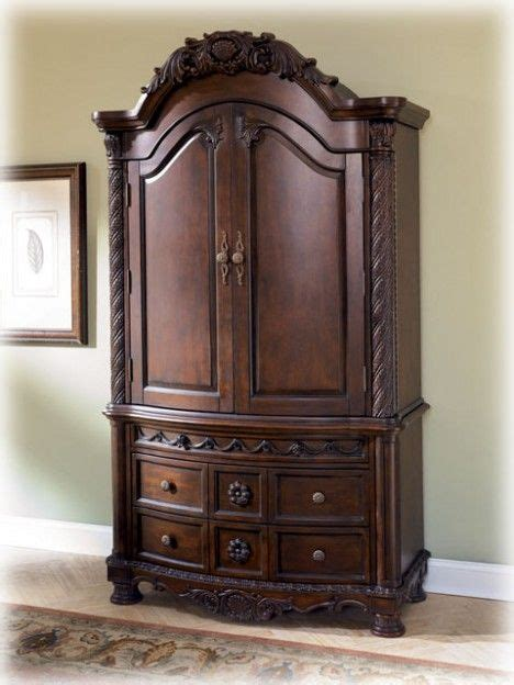 ashley furniture clearance north shore armoire armoire