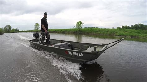 layout boat with mud motor ppf mud motors wood duck 6 5hp youtube