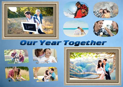 photo collage ideas anniversary collage ideas put your into the gift