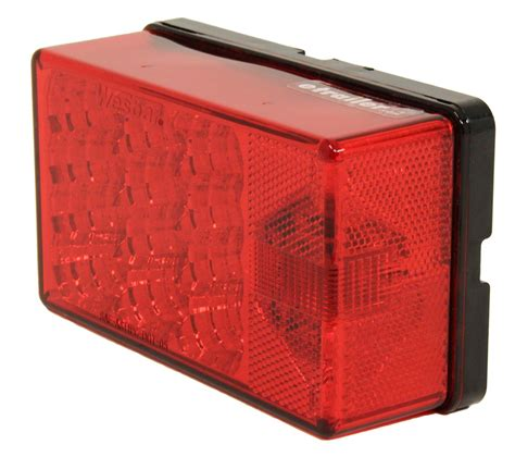 waterproof led trailer lights led waterproof 4 quot x 6 quot low profile tail light right hand