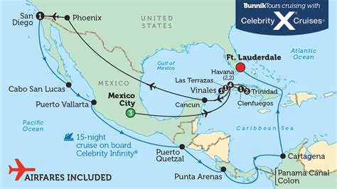 map of us mexico and cuba mexico cuba map