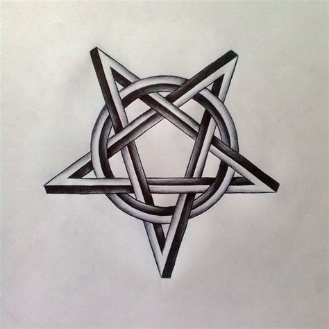 doodle pentagram pentagram by gloripeace on deviantart
