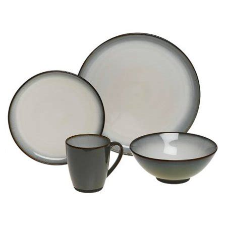 sango concepts 16 dinnerware set avocado walmart