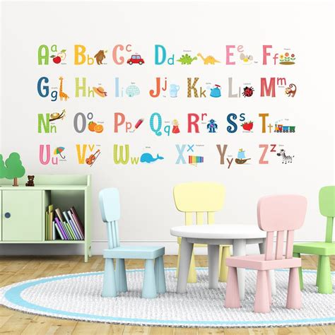 best 25 alphabet wall decals ideas on