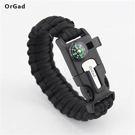 New Multi Purpose Emergency Survival Bracelet Paracord Fashion Sport Adjustable OutDoor