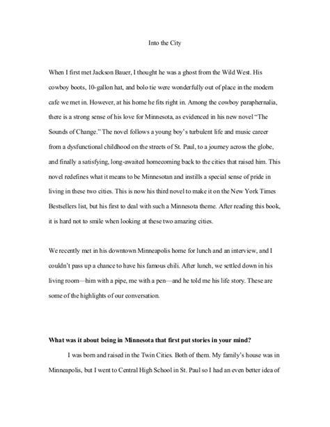 article writing sle