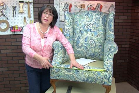 measuring your chair for a cushion s upholstery