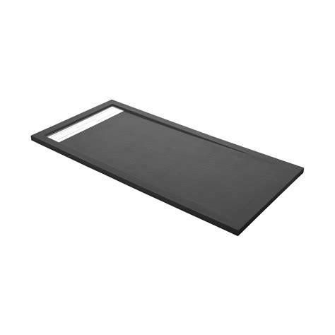 receveur de rectangulaire l 140 x l 90 cm r 233 sine gris leroy merlin