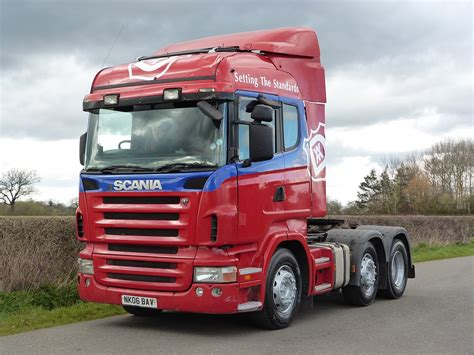 scania r420 highline 6 x 2 tractor unit