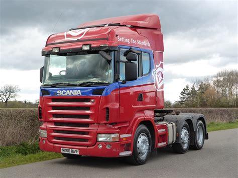 scania trucks scania r420 highline 6 x 2 tractor unit used trucks