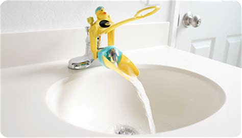 Faucet Extenders by Hanging The Wire Aqueduck Faucet Extender