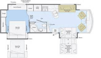 Winnebago Via Floor Plans by 2016 Winnebago Journey Floor Plans Trend Home Design And