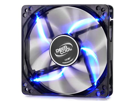 Promo Deepcool Wind Blade White Led With Hydro Bearing Fan 12 fan deepcool wind blade 120mm led azul armor