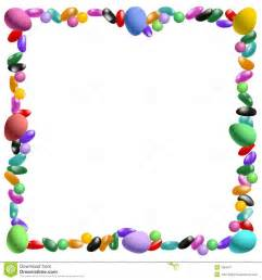 easter candy border stock image image 7984071
