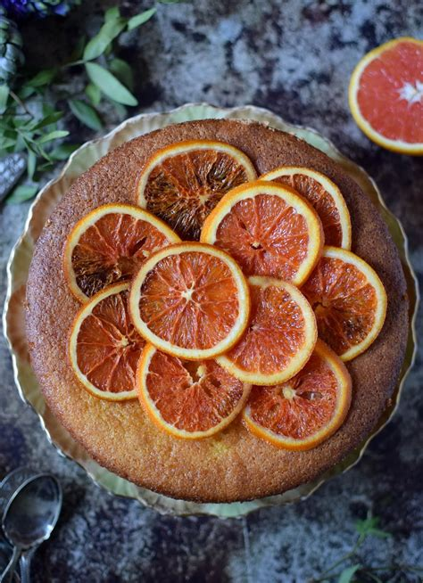 The Blood Orange blood orange and almond cake recipe katiecakes