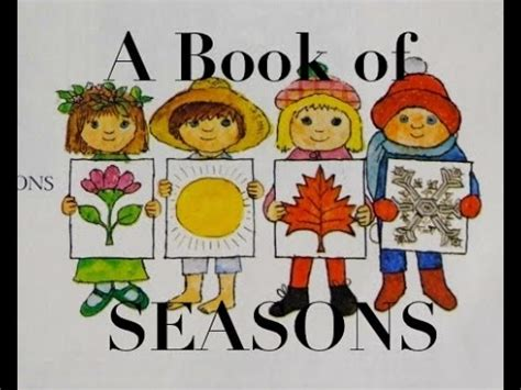 a season in my books a book of seasons a children s book