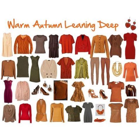 warm autumn color palette warm autumn leaning deep color palette deep autumn
