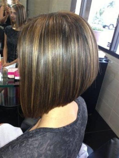 two toned diagonal forward cut diagonal forward bob haircut for present loveliness