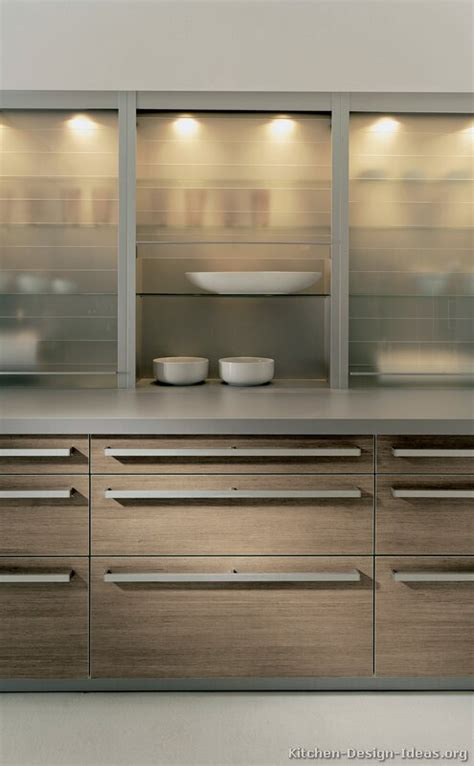 wood and glass kitchen cabinets pictures of kitchens modern light wood kitchen