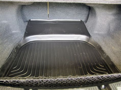 2008 Ford Taurus Floor Mats by Husky Liners Weatherbeater Custom Cargo Liner Black