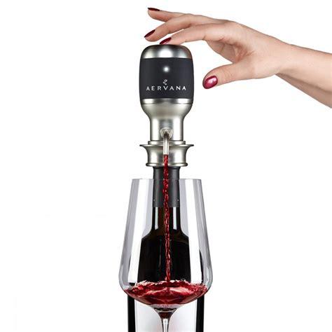 Dispenser Electric aervana electric wine aerating dispenser the green