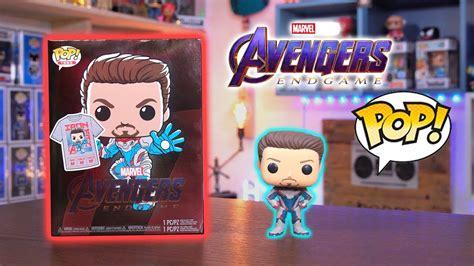 avengers endgame tony stark gitd funko pop tee unboxing