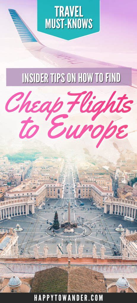 how to find the cheapest plane tickets to europe