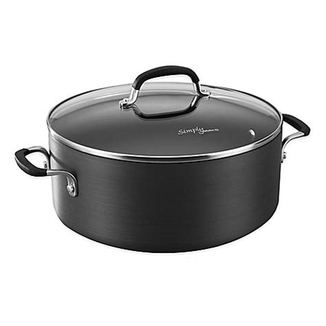 dutch oven bed bath and beyond simply calphalon 174 nonstick 7 qt dutch oven bed bath