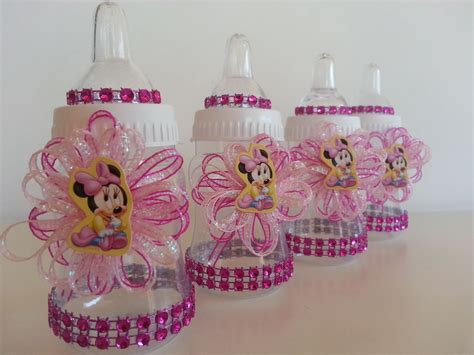 Shops That Sell Baby Shower Stuff by 12 Minnie Mouse Pink Fillable Bottles Baby Shower Favors