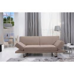 Modern Sofa Uk Opulence Fabric Sofa Bed 2 Seater 4ft6 Guest Bed Brown Modern Padded Ebay