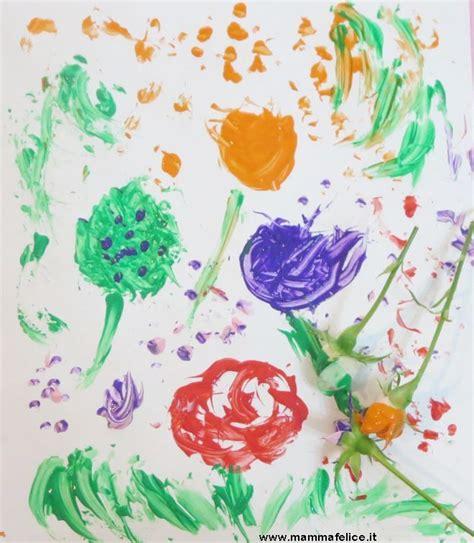 fiori lavoretti per bambini lavoretti per bambini con fiori e foglie mamma felice