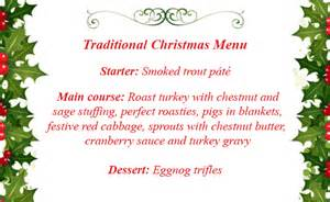 christmas menu ideas goodtoknow