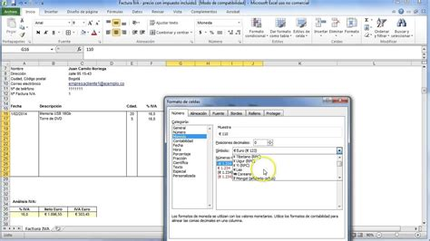 hacer layout en excel como hacer una factura joy studio design gallery best