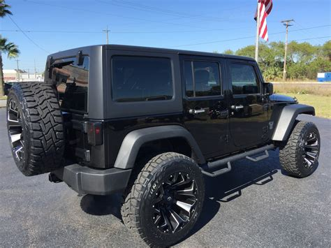 Black Lifted Jeep Wrangler 2017 Jeep Wrangler Unlimited Black