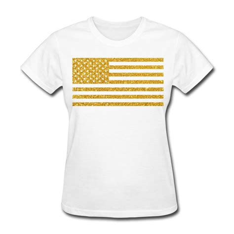 design t shirts with glitter letters us flag gold glitter t shirt spreadshirt