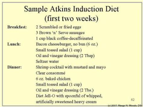 induction phase atkins menu phase 1 atkins food list atkins diet induction lo carb the o jays diet plans